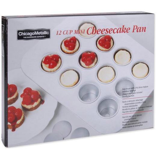 Chicago Metallic Mini Cheesecake Pan